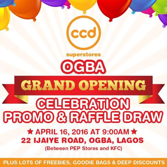 CCD Ogba Opening