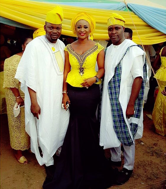 CEO Luminee Officialat Faithia Williams Balogun's Brother's Wedding in Oyo State.jpg