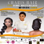Charis Hair Demo and Masterclass in London_May 2016