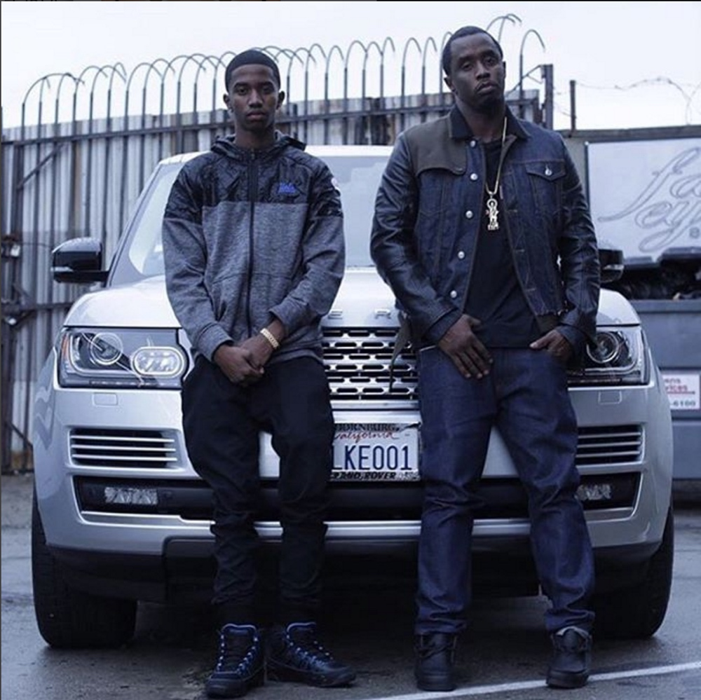 Christian Combs and Diddy