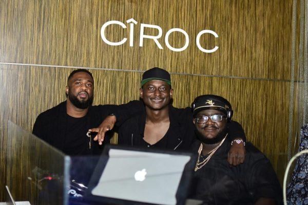 Praiz and Sammy with DJ Babus