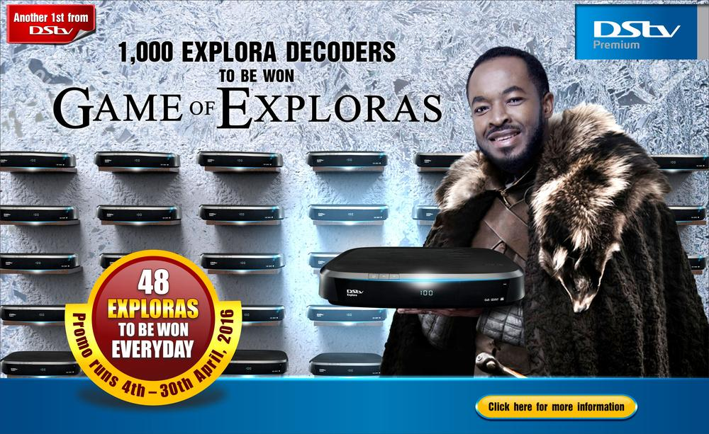 DStv Game of Exploras