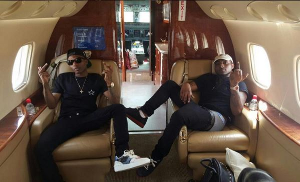 "Wizkid vs Linda Ikeji's fight:davido reply We are loving Wizkid if ""F**k with Wizkid, you f**k with us"