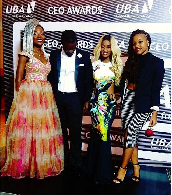 Efya, Vanessa Mdee, Salha Kibwana at UBA CEO Awards