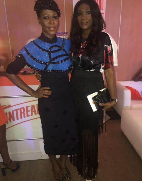 Ezinne Zinkata and Biola Balogun