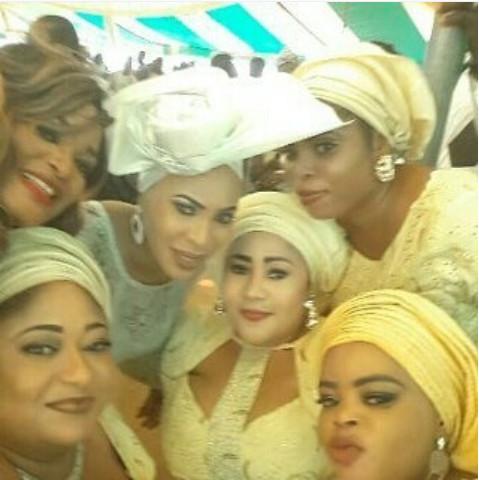 Faithia Williams Balogun's Brother's Wedding in Oyo State