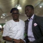 Fayose and Ayodele Dada uNILAG Best Student
