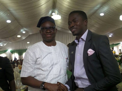 Fayose and Ayodele Dada uNILAG Best Student