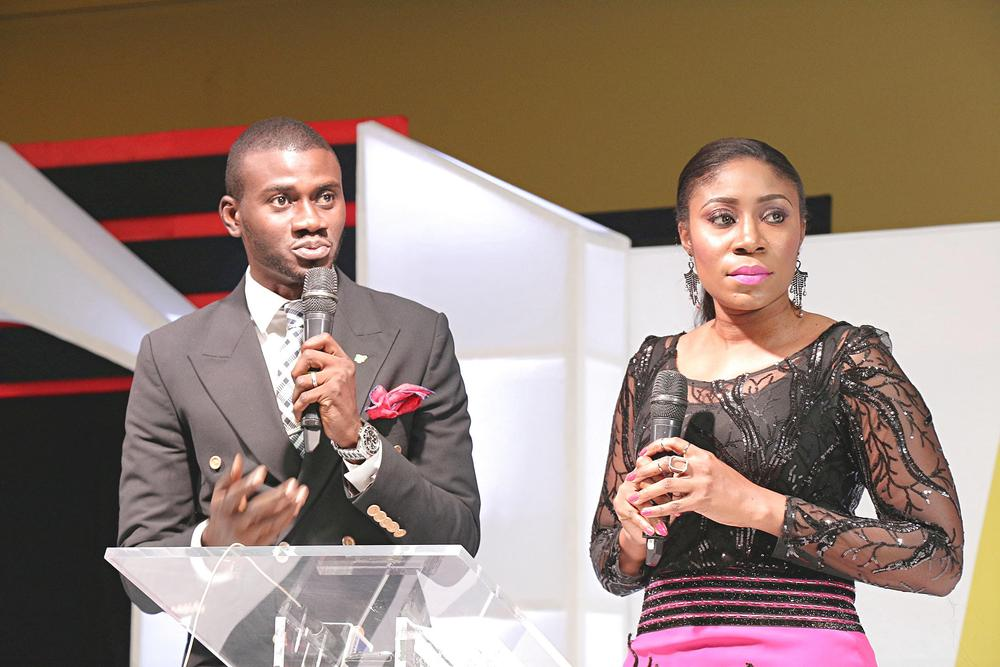 Segun Dangote and Kayla Oniwo