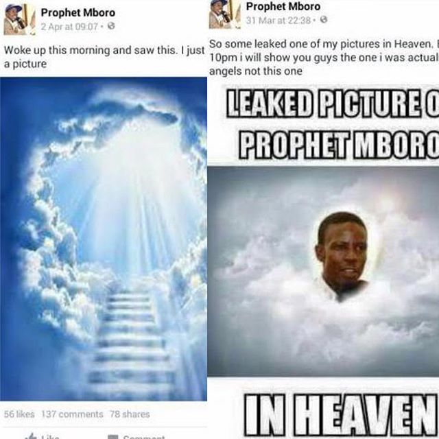 Freeze_Prophet Mboro_South African Pastor