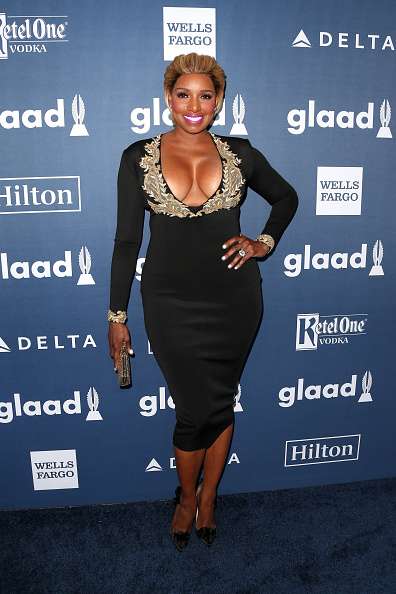 NeNe Leakes attends the 27th Annual GLAAD Media Awards at the Beverly Hilton Hotel on April 2, 2016 in Beverly Hills, California.