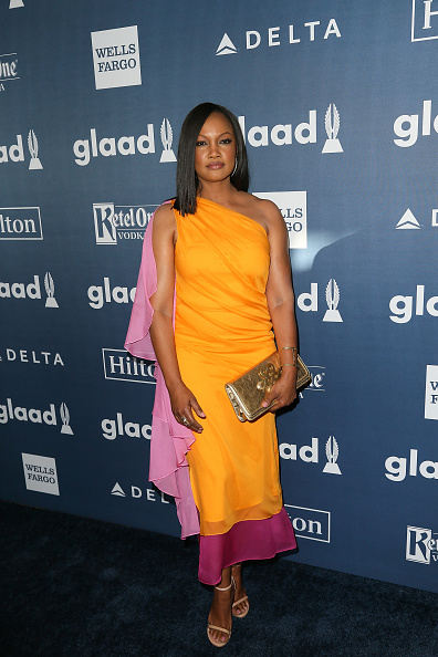 BEVERLY HILLS, CALIFORNIA - APRIL 02:  Actress Garcelle Beauvais arrives at the 27th Annual GLAAD Media Awards at The Beverly Hilton Hotel on April 2, 2016 in Beverly Hills, California.  (Photo by David Livingston/Getty Images)