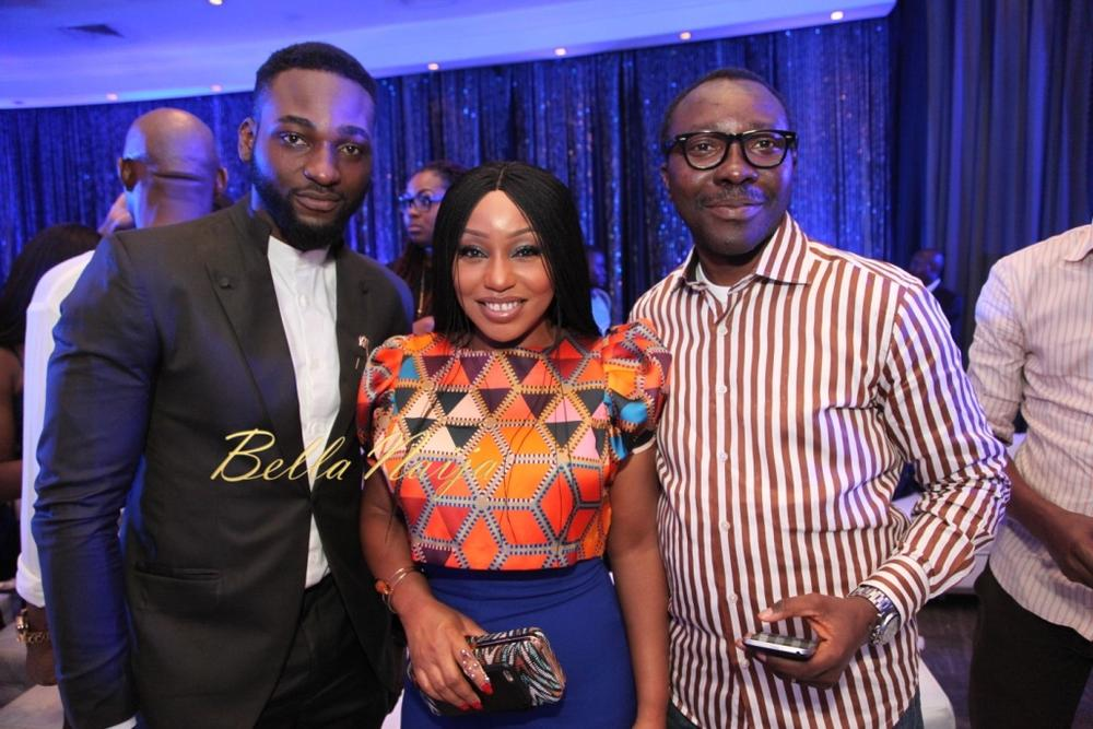 Gbenro Ajibade, Rita Dominic and Rogers Ohime