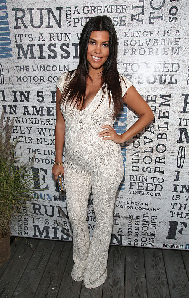 "BRIDGEHAMPTON, NY - AUGUST 09: TV Personality Kourtney Kardashian attends Women's Health Hosts Hamptons ""Party Under The Stars"" for RUN10 FEED10 at Bridgehampton Tennis and Surf Club on August 9, 2014 in Bridgehampton, New York. (Photo by Paul Zimmerman/Getty Images for Women's Health)"