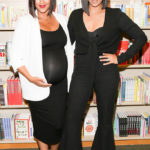 "LOS ANGELES, CA - APRIL 21:  Tamera Mowry and Tia Mowry attend their book signing For ""Twintuition"" at Barnes & Noble bookstore at The Grove on April 21, 2015 in Los Angeles, California.  (Photo by Alison Buck/Getty Images)"