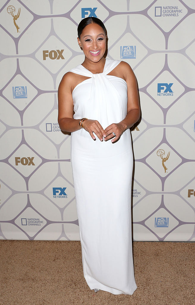 LOS ANGELES, CA - SEPTEMBER 20: Actress Tamera Mowry-Housley attends the 67th Primetime Emmy Awards Fox after party on September 20, 2015 in Los Angeles, California. (Photo by Frederick M. Brown/Getty Images)