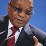 South African President Zuma Visits Berlin