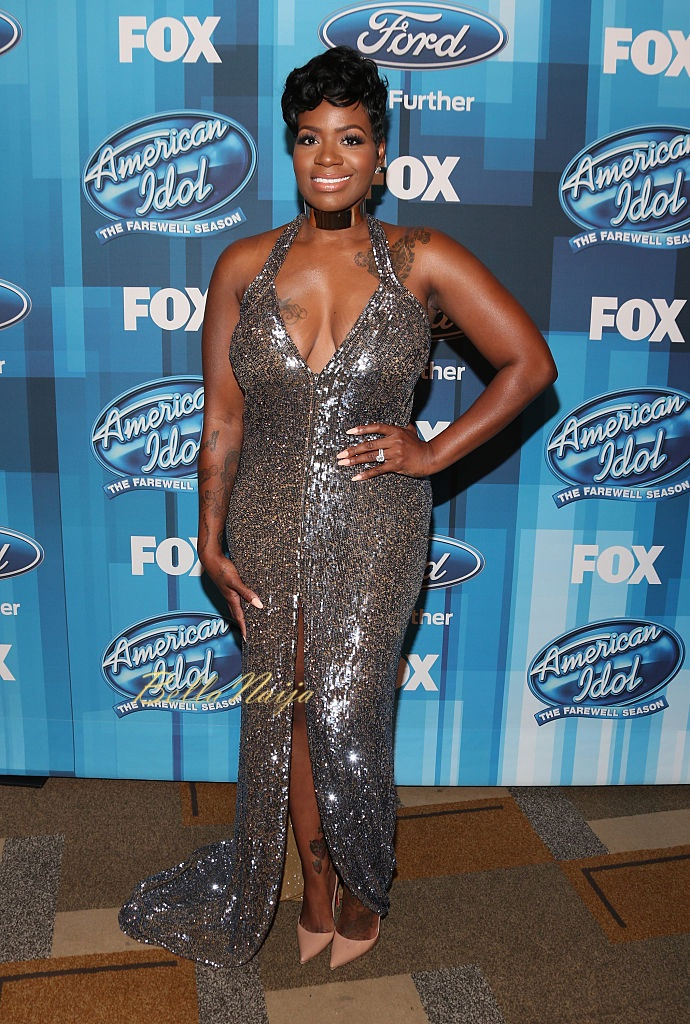 "HOLLYWOOD, CALIFORNIA - APRIL 07: Fantasia Barrino attends FOX's ""American Idol"" Finale For The Farewell Season at Dolby Theatre on April 7, 2016 in Hollywood, California. (Photo by Todd Williamson/Getty Images)"