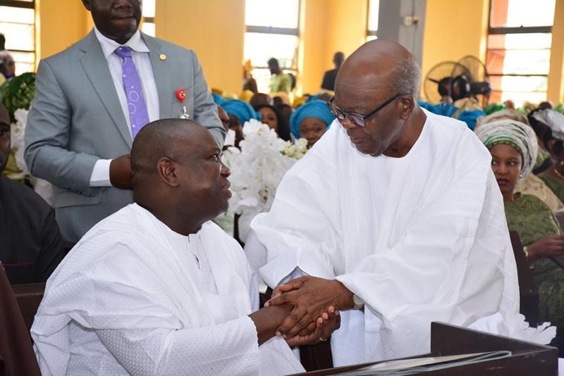 Governor Akinwunmi Ambode & Pa Olanihun Ajayi