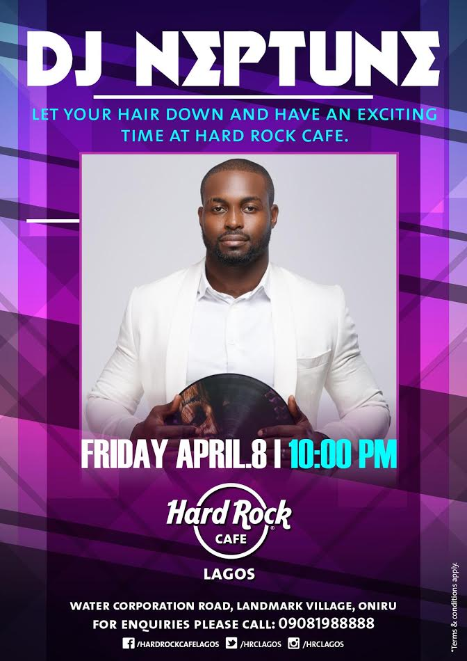 Hard Rock Cafe DJ Neptune