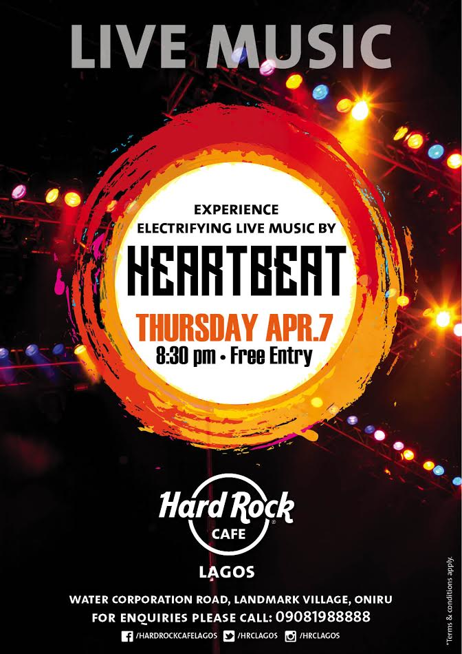 Hard Rock Cafe Heart Beat Band