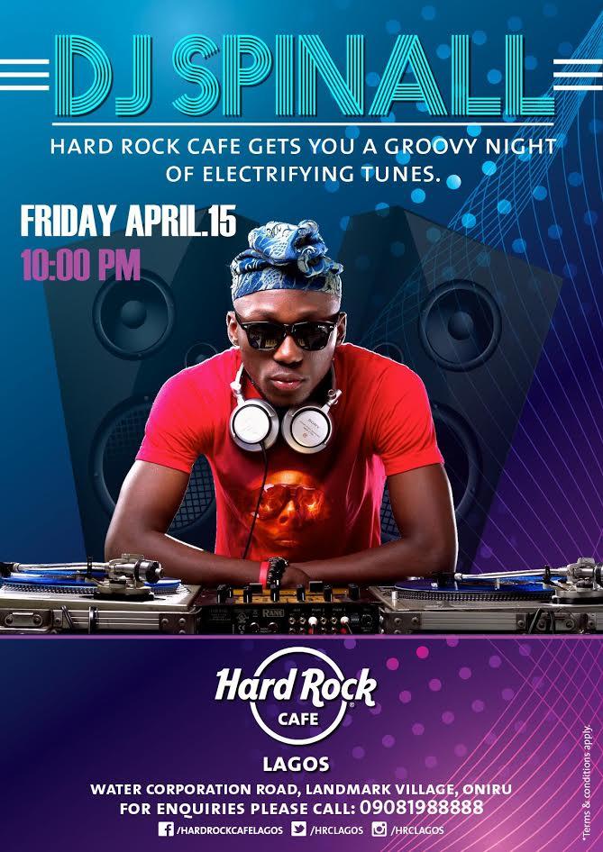 HardRock DJ Spinall