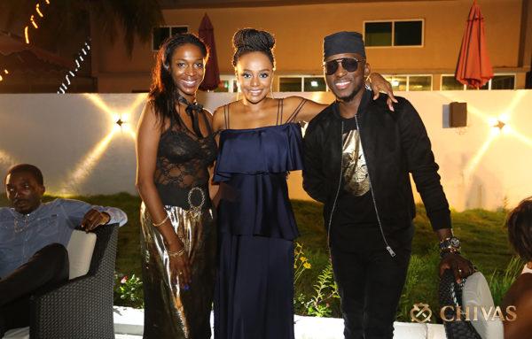 Hauwa Mukan, Michelle Dede & DJ Spinall