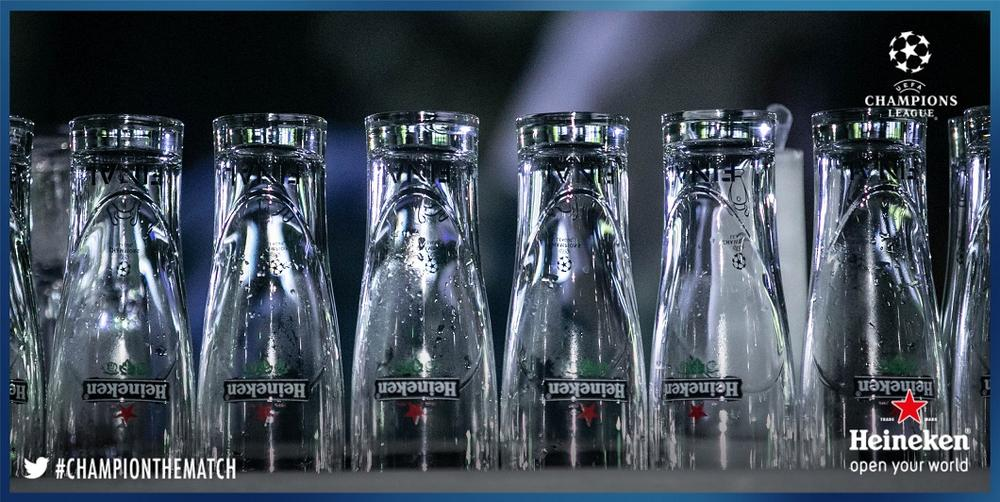 Heineken Glasses