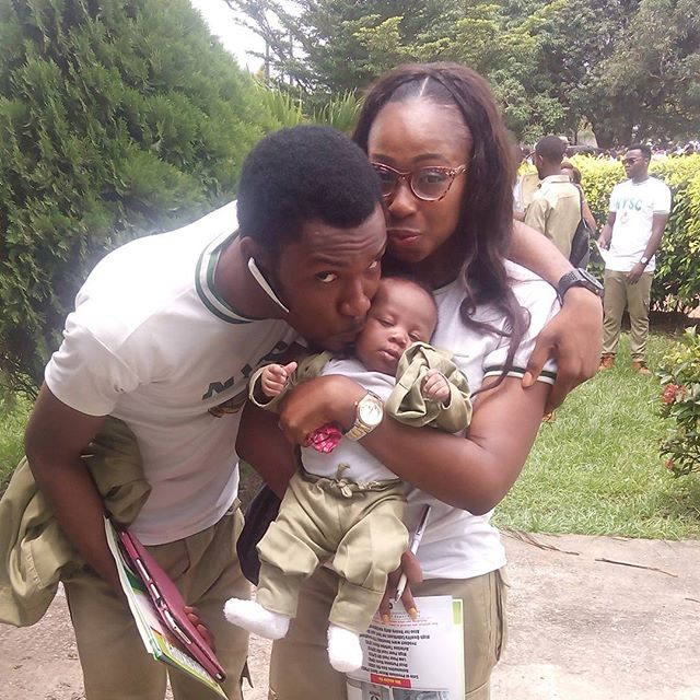 Well done to all the Batch A NYSC Corper Family, pictures of Hero Daniels