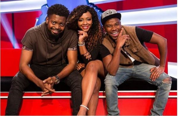 Hosts of Ridiculousness Africa - Basketmouth, Boity and Thomas Gumede