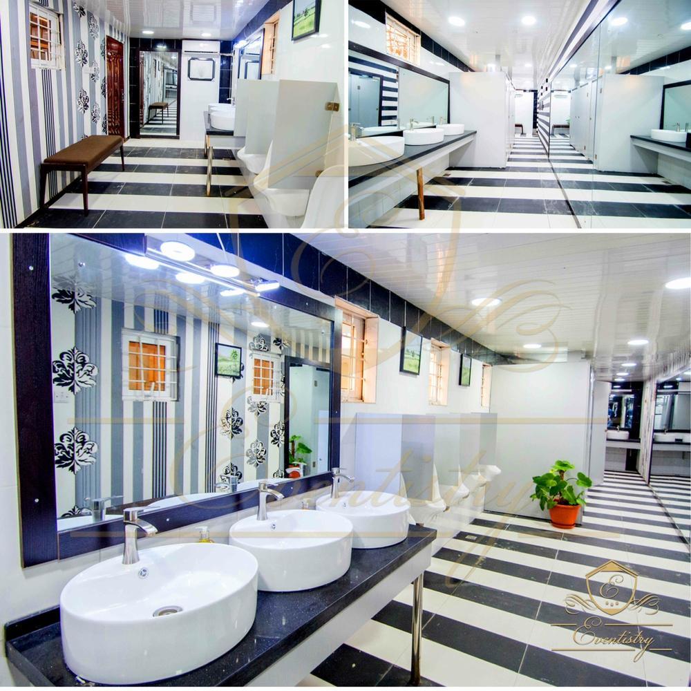 Clean Modern Toilets
