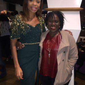 Nigerian Actress Joke Silva and diabanjo