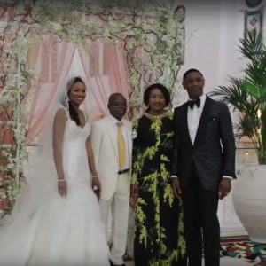 Joy and Gary Nigerian Wedding in Burj al arab