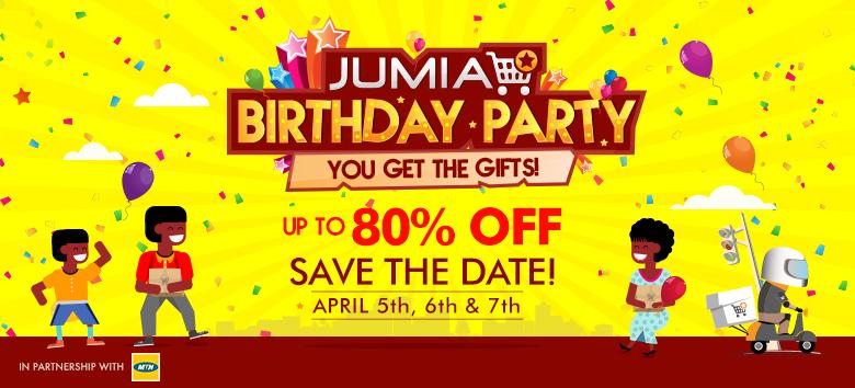 Jumia AnniversaryTeasing