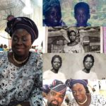 Kunle Afolayan and Mother