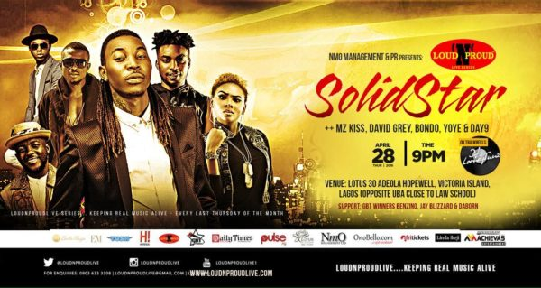 LoudNProudLive with SOLIDSTAR April Edition FINAL
