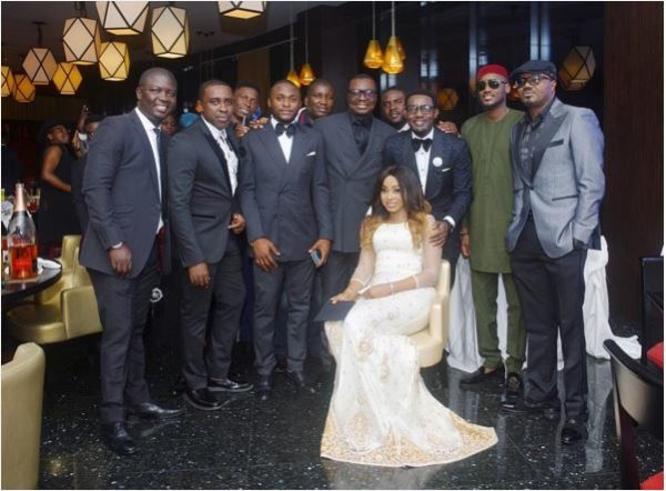 Watch the Fun and Star-Studded Birthday Dinner for AY Makun's Wife, Mabel