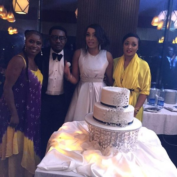 First Photos: AY Hosts Swanky Birthday Dinner Party For