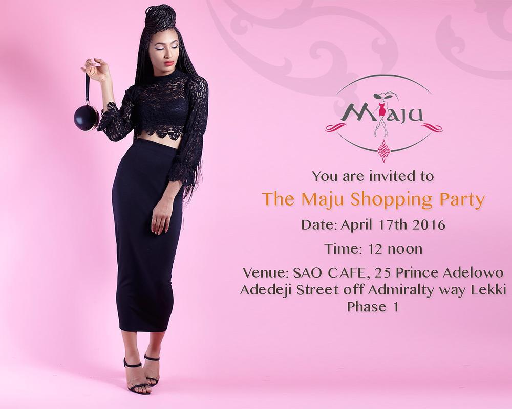 Maju Shopping Party