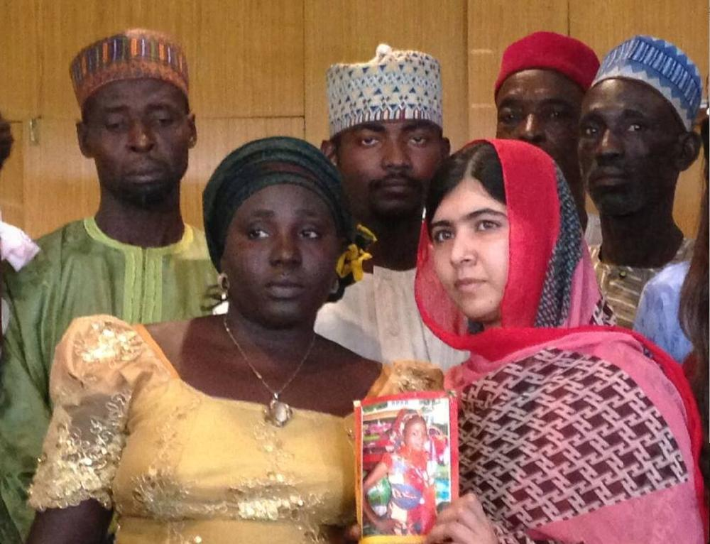 Malala and Chibok Girls Parents