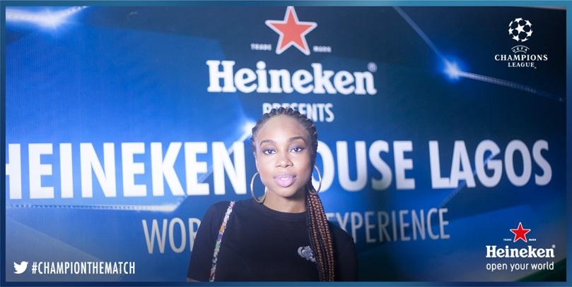 Maria at #HeinekenHouseLagos