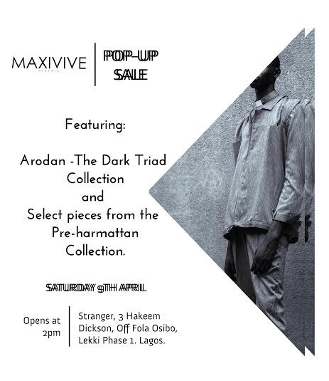 Maxivive Pop-Up Sale