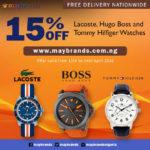 MayBrands 15% Discount Promo