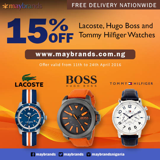 MayBrands 15% Discount Promo