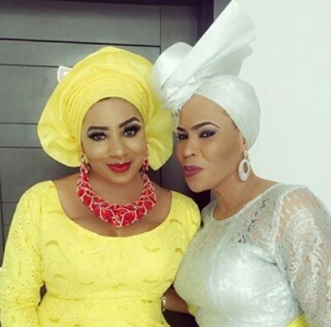 Mide Martins and Faithia Williams Balogun