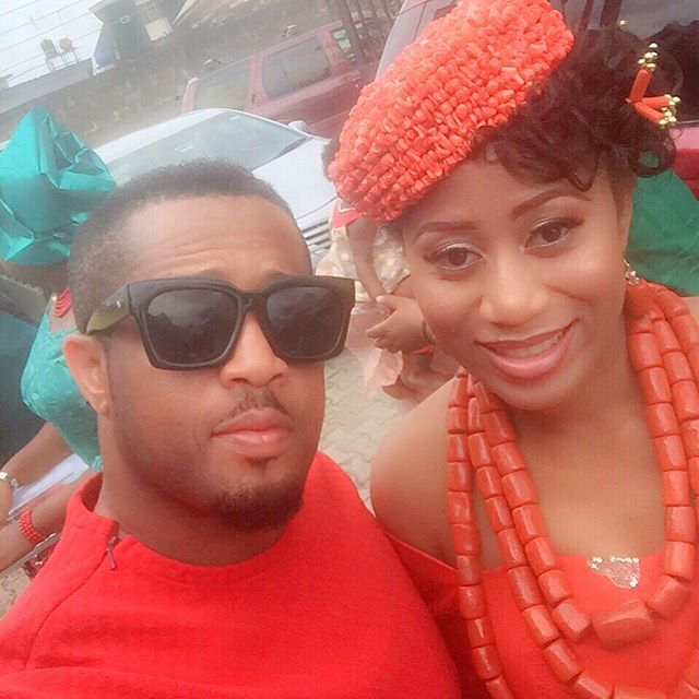 Mike Ezuruonye and sister Chika 2