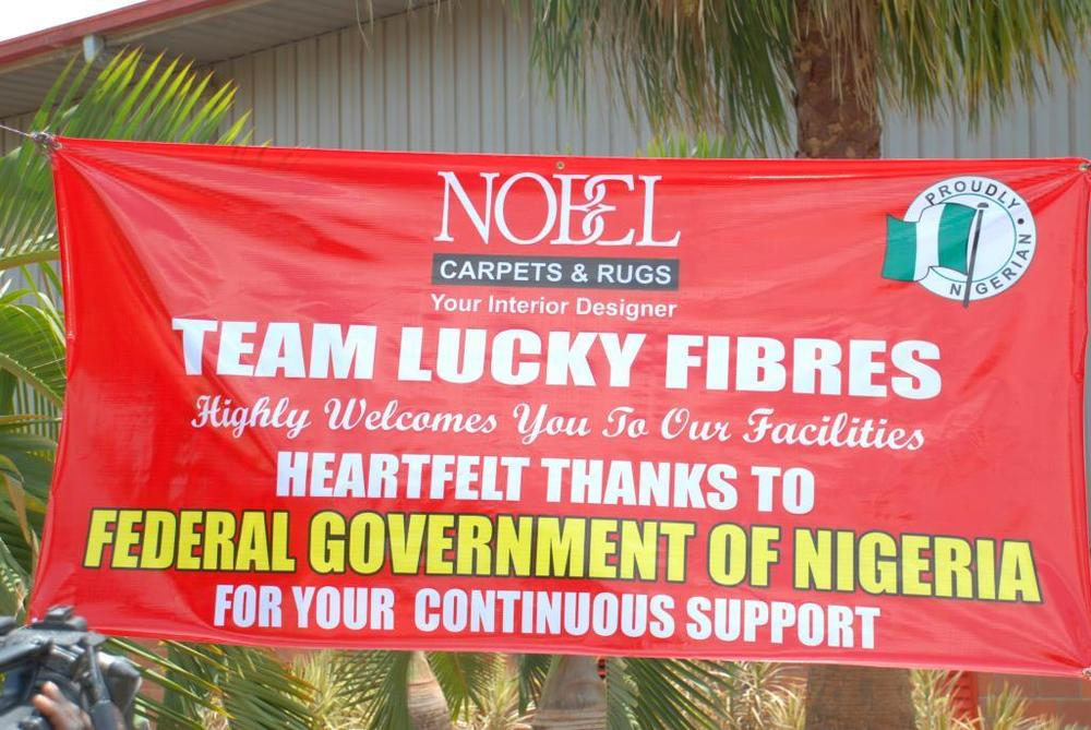 Minister of state for trade, industry and investment visit to Nobel carpets-BELLANAIJA0001
