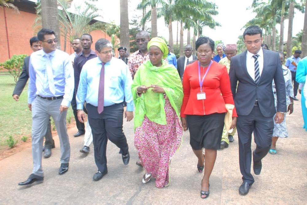 Minister of state for trade, industry and investment visit to Nobel carpets-BELLANAIJA0002