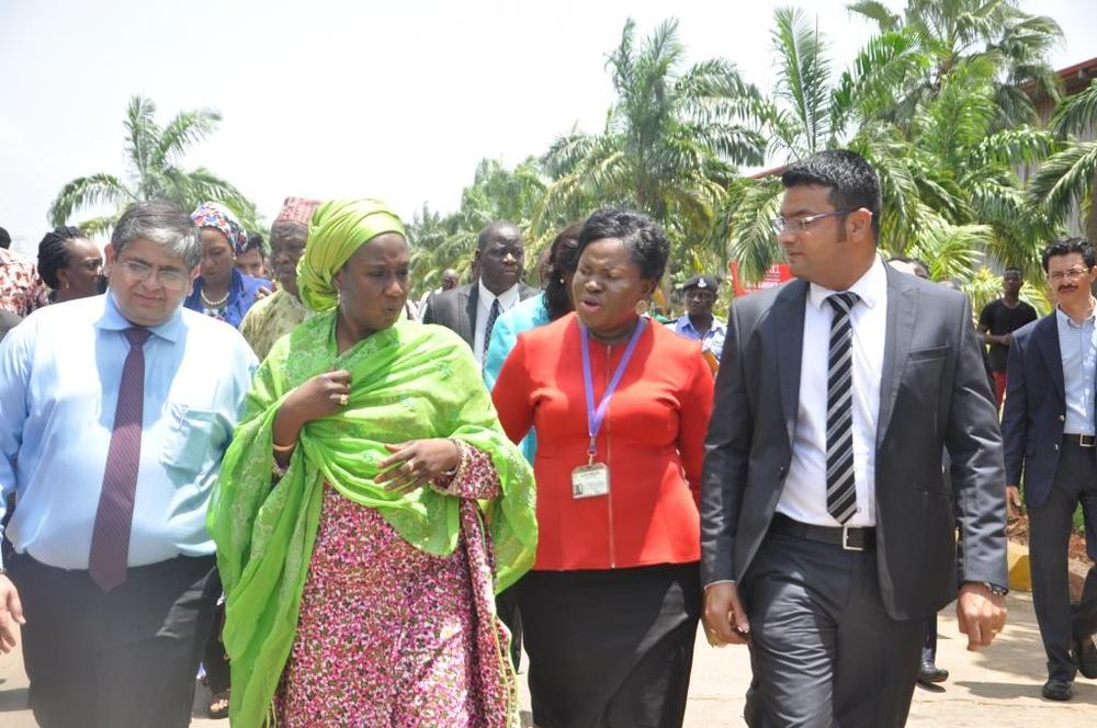 Minister of state for trade, industry and investment visit to Nobel carpets-BELLANAIJA0003