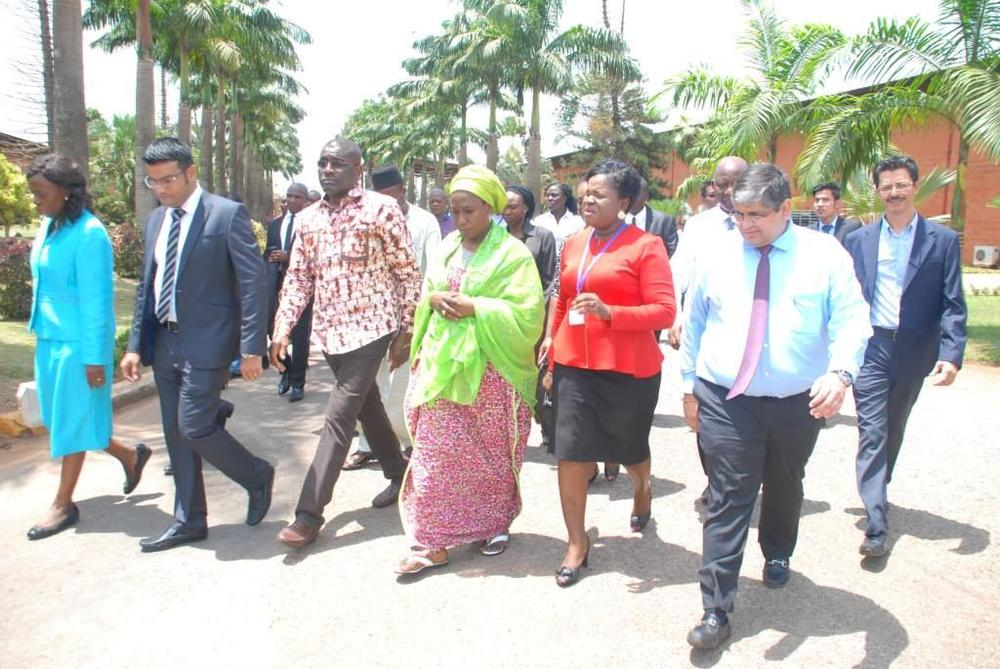 Minister of state for trade, industry and investment visit to Nobel carpets-BELLANAIJA0004